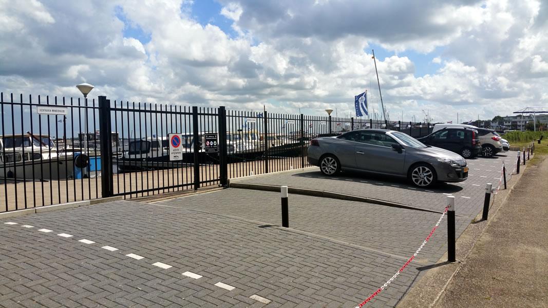 Eigen parkeerplaatsen te huur bij Jachthaven de Brasem