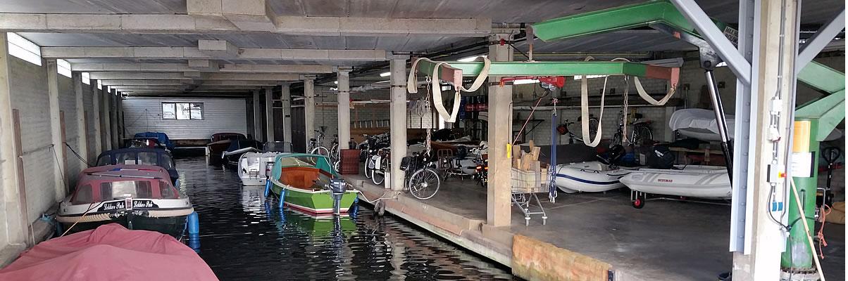 Jachthaven de Brasem loods