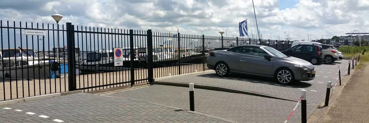 Jachthaven de Brasem parkeerterrein